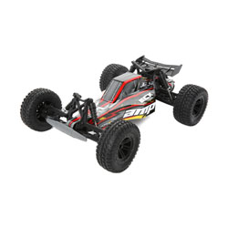 ECX 03029T1 1/10 AMP DB 2wd Desert Buggy: Black/Yellow Ready-to-Run This is an ECX 03029T1 1/10 AMP DB 2wd Desert Buggy: Black/Yellow Ready-to-Run. From their pinpoint precision to their versatility, buggies have been a mainstay in RC driving for a reason. The ECX® AMP™ Desert Buggy pays homage to buggies of the past with a classic design and modern features that leave less capable rigs sidelined. There's little that can slow down this no-nonsense buggy, not even Mother Nature thanks to waterproof electronics. Whenever you drive, you'll be protected by the hard-hitting durability that put the ECX brand on the map. Best of all, the AMP Desert Buggy is upgradable so you can take your driving to the next level. Equally ferocious on a straightaway or kicking up dirt, the AMP Desert Buggy is sure to electrify your senses.Key Features:Ready-to-run540 Size 20T brushed motorWaterproof electronicsFull range 2.4GHz transmitterRechargeable Dynamite® 7.2V 1800 mAh Ni-MH battery includedDynamite® Ni-MH 110-240V charger includedNylon composite chassisOil-filled shocksFully painted and decaled body2WD transmission with gear differentialsCaptured hinge pinsIndependent suspensionCondition: Factory NewOperational Status: FunctionalThis item is brand new from the factory.Original Box: YesManufacturer: ECXModel Number: 03029T1MSRP: $159.99Category 1: Other ToysCategory 2: Radio Control ToysAvailability: Ships in 1 Business Day!The Trainz SKU for this item is P12163579. Track: 12163579 - No Location Assigned - 001 - TrainzAuctionGroup00UNK - TDIDUNK
