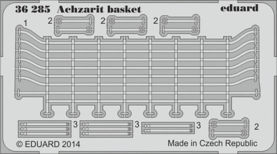 Eduard 36285 1:35 Armor Achzarit Basket