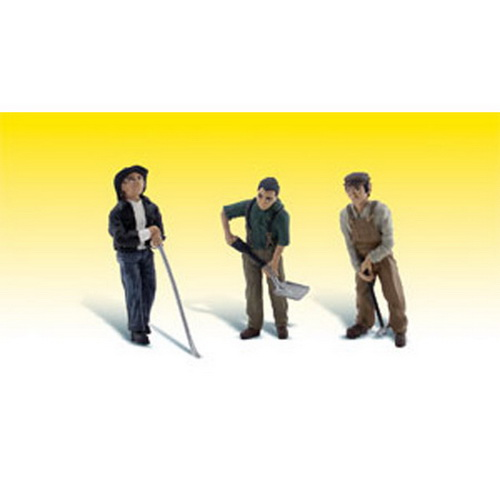 Woodland Scenics A2562 G Scale Rail Worker Figures (3)