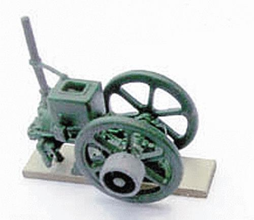 B.T.S. 20699 HO 8-Horse Stover Engine Kit This is a B.T.S. 20699 HO Scale 8-Horse Stover Engine Kit This product is on-sale today for $3.98 Perfect for layouts and for adding onto train sets features include standard-profile easy-maintenance Code 100 nickel-silver rail molded black plastic ties with realistic wood grain joiners and holes to accommodate track nails. Remote-controlled turnouts come with a slide switch with momentary contact for simple wiring. The turnouts feature an 18 radius diverging route for maximum compatibility with popular Code 100 track systems. Code 100 Track 18 Radius Curve 4-Pack 9 Straight Track 4-Pack Right Hand Remote Controlled Turnout Left Hand Remote Controlled Turnout Flex Track 36 91.4cm Double Oval Track Expander Set Figure Eight Track Expander Set 18 Curved Terminal Rerailer Lighted Bumper 2-Pack Rail Joiners pkg(48) Terminal Joiner #22 Gauge Wire 2-PackCondition: Factory New (C-9All original; unused; factory rubs and evidence of handling, shipping and factory test run.Standards for all toy train related accessory items apply to the visual appearance of the item and do not consider the operating functionality of the equipment.Condition and Grading Standards are subjective, at best, and are intended to act as a guide. )Operational Status: FunctionalThis item is brand new from the factory.Original Box: Yes (P-9May have store stamps and price tags. Has inner liners.)Manufacturer: B.T.S.Model Number: 20699MSRP: $9.95Scale/Era: HO ModernModel Type: AccessoriesAvailability: Ships in 3 to 5 Business Days.The Trainz SKU for this item is P11503919. Track: 11503919 - FS - 001 - TrainzAuctionGroup00UNK - TDIDUNK