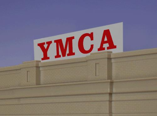 Miller Engineering 2071 HO/O Animated Neon Sign YMCA Large Horizontal This is a Miller Engineering 2071 HO/O Scales Animated Neon Sign YMCA Large Horizontal 4-3/4 x 1. George Williams founded the YMCA in London, England in 1844. Today, it's a worldwide movement of national and local organizations open to all. This animated sign comes with a second set of contacts so it can be mounted flush against the front of your building if desired. Kit includes battery holder and all necessary electronics for plug-and-play installation. Requires three AAA batteries (not included).Condition: Factory New (C-9All original; unused; factory rubs and evidence of handling, shipping and factory test run.Standards for all toy train related accessory items apply to the visual appearance of the item and do not consider the operating functionality of the equipment.Condition and Grading Standards are subjective, at best, and are intended to act as a guide. )Operational Status: FunctionalThis item is brand new from the factory.Original Box: Yes (P-9May have store stamps and price tags. Has inner liners.)Manufacturer: Miller EngineeringModel Number: 2071Road Name: YMCAMSRP: $34.95Scale/Era: HO ModernModel Type: AccessoriesAvailability: Ships in 3 to 5 Business Days.The Trainz SKU for this item is P11619148. Track: 11619148 - FS - 001 - TrainzAuctionGroup00UNK - TDIDUNK