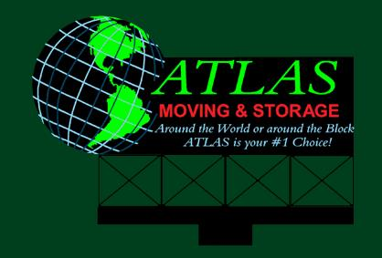Miller Engineering 2081 HO/O Atlas Moving & Storage Animated Billboard This is a Miller Engineering 2081 HO/O Atlas Moving & Storage Animated Billboard Sign. From dancing chase lights to pointing arrows, these animated electroluminiscent billboard kits feature a wide variety of colorful, simulated-neon graphics for a variety of businesses. Kits include battery holder and all necessary electronics for plug-and-play installation. Signs require three AAA batteries (not included). Just install them on your building rooftops or along highways. Large signs are suitable for HO and larger scales, medium signs are usable as large N Scale signs and in HO Scale.Condition: Factory New (C-9All original; unused; factory rubs and evidence of handling, shipping and factory test run.Standards for all toy train related accessory items apply to the visual appearance of the item and do not consider the operating functionality of the equipment.Condition and Grading Standards are subjective, at best, and are intended to act as a guide. )Operational Status: FunctionalThis item is brand new from the factory.Original Box: Yes (P-9May have store stamps and price tags. Has inner liners.)Manufacturer: Miller EngineeringModel Number: 2081MSRP: $32.95Scale/Era: HO ModernModel Type: AccessoriesAvailability: Ships in 1 Business Day!The Trainz SKU for this item is P11588967. Track: 11588967 - No Location Assigned - 001 - TrainzAuctionGroup00UNK - TDIDUNK