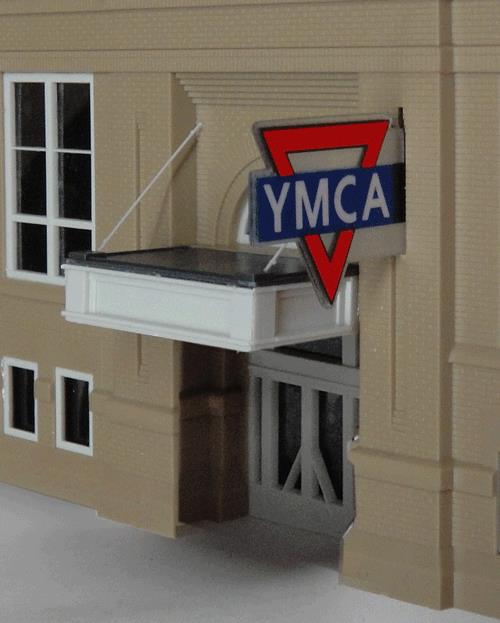 Miller Engineering 3072 HO Animated Neon Sign YMCA Large Horizontal This is a Miller Engineering 3072 HO Scale Animated Neon Sign YMCA Logo Small, Double-Sided Vertical 1-3/8 x 1. George Williams founded the YMCA in London, England in 1844. Today, it's a worldwide movement of national and local organizations open to all. This animated sign is double sided and is a companion to the horizontal YMCA sign. Kit includes battery holder and all necessary electronics for plug-and-play installation. Requires three AAA batteries (not included).Condition: Factory New (C-9All original; unused; factory rubs and evidence of handling, shipping and factory test run.Standards for all toy train related accessory items apply to the visual appearance of the item and do not consider the operating functionality of the equipment.Condition and Grading Standards are subjective, at best, and are intended to act as a guide. )Operational Status: FunctionalThis item is brand new from the factory.Original Box: Yes (P-9May have store stamps and price tags. Has inner liners.)Manufacturer: Miller EngineeringModel Number: 3072Road Name: YMCAMSRP: $32.95Scale/Era: HO ModernModel Type: AccessoriesAvailability: Ships within 3 Business Days!The Trainz SKU for this item is P11619149. Track: 11619149 - 4009-C (Suite 2730-100)  - 001 - TrainzAuctionGroup00UNK - TDIDUNK