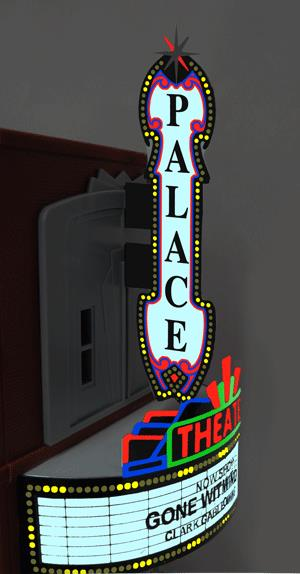 Miller Engineering 59981 HO/O Animated Neon Billboard Large Theater Co This is a Miller Engineering 59981 HO/O Scales Animated Neon Billboard Large Theater Combo Kit w/Vertical & Horizontal Signs. From dancing chase lights to pointing arrows, these animated electroluminiscent billboard kits feature a wide variety of colorful, simulated-neon graphics for a variety of businesses. Kits include battery holder and all necessary electronics for plug-and-play installation. Signs require three AAA batteries (not included). Just install them on your building rooftops or along highways. Large signs are suitable for HO and larger scales, medium signs are usable as large N Scale signs and in HO Scale.Condition: Factory New (C-9All original; unused; factory rubs and evidence of handling, shipping and factory test run.Standards for all toy train related accessory items apply to the visual appearance of the item and do not consider the operating functionality of the equipment.Condition and Grading Standards are subjective, at best, and are intended to act as a guide. )Operational Status: FunctionalThis item is brand new from the factory.Original Box: Yes (P-9May have store stamps and price tags. Has inner liners.)Manufacturer: Miller EngineeringModel Number: 59981MSRP: $79.95Scale/Era: HO ModernModel Type: AccessoriesAvailability: Ships in 1 Business Day!The Trainz SKU for this item is P11632586. Track: 11632586 - No Location Assigned - 001 - TrainzAuctionGroup00UNK - TDIDUNK