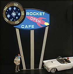 Miller Engineering 7382 N/HO Animated Multi-Graphic Lighting Kits Medi This is a Miller Engineering 7382 N/HO Scale Animated Multi-Graphic Lighting Kits with Overlays Round, Medium. Animated electroluminiscent sign kits include peel-and-stick graphics that allow you to customize them for a variety of businesses. Kits include battery holder and all necessary electronics for plug-and-play installation. Signs require three AAA batteries (not included). 3-1/4 Tall.Condition: Factory New (C-9All original; unused; factory rubs and evidence of handling, shipping and factory test run.Standards for all toy train related accessory items apply to the visual appearance of the item and do not consider the operating functionality of the equipment.Condition and Grading Standards are subjective, at best, and are intended to act as a guide. )Operational Status: FunctionalThis item is brand new from the factory.Original Box: Yes (P-9May have store stamps and price tags. Has inner liners.)Manufacturer: Miller EngineeringModel Number: 7382MSRP: $28.95Scale/Era: HO ModernModel Type: AccessoriesAvailability: Ships in 2 Business Days!The Trainz SKU for this item is P11588363. Track: 11588363 - 4009-C (Suite 2730-100)  - 001 - TrainzAuctionGroup00UNK - TDIDUNK