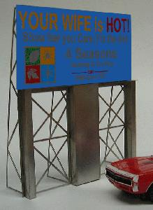 Miller Engineering 881001 HO/O Four Seasons Heating & Cooling Animated This is a Miller Engineering 881001 HO/O Scales Four Seasons Heating & Cooling Animated Neon Billboard - Light Works USA™ Large for HO & O Scales 4-5/16 x 5-1/8 10.9 x 13cm. Great addition to your layout or a diorama. Kit includes: •Electroluminescence sign lamp •Power supply (requires 3 AAA batteries - not included) •Sign supports •Complete instructionsCondition: Factory New (C-9All original; unused; factory rubs and evidence of handling, shipping and factory test run.Standards for all toy train related accessory items apply to the visual appearance of the item and do not consider the operating functionality of the equipment.Condition and Grading Standards are subjective, at best, and are intended to act as a guide. )Operational Status: FunctionalThis item is brand new from the factory.Original Box: Yes (P-9May have store stamps and price tags. Has inner liners.)Manufacturer: Miller EngineeringModel Number: 881001MSRP: $45.95Scale/Era: HO ModernModel Type: AccessoriesAvailability: Ships in 1 Business Day!The Trainz SKU for this item is P11975362. Track: 11975362 - No Location Assigned - 001 - TrainzAuctionGroup00UNK - TDIDUNK