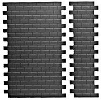 Pikestuff 541-1006 Concrete Block Walls 14-1/2 x 9-1/4'