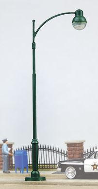 Walthers 949-4309 HO Modern Street Light This is a Walthers 949-4309 HO Modern Street Light. Common North American-style streetlights used in many communities, Fit popular modeling eras 1890s to present, Great detail for day or night scenes, Fully assembled from tough metal parts, Install in minutes in new or existing scenery, Easy to wire with plug & socket or factory-installed leads as appropriate, and Complete installation & hook up instructions.Condition: Factory New (C-9All original; unused; factory rubs and evidence of handling, shipping and factory test run.Standards for all toy train related accessory items apply to the visual appearance of the item and do not consider the operating functionality of the equipment.Condition and Grading Standards are subjective, at best, and are intended to act as a guide. )Operational Status: FunctionalThis item is brand new from the factory.Original Box: Yes (P-9May have store stamps and price tags. Has inner liners.)Manufacturer: WalthersModel Number: 949-4309MSRP: $19.98Scale/Era: HO ModernModel Type: AccessoriesAvailability: Ships in 3 to 5 Business Days.The Trainz SKU for this item is P12162928. Track: 12162928 - FS - 001 - TrainzAuctionGroup00UNK - TDIDUNK