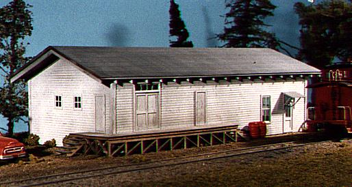 American Model Builders 701 HO General Service Building  Lineside Stru This is American Model Builders 701 Freight house. A terminal storeroom, a freight depot and office warehouse, a small railroad station, a trucking company office/dock, etc... You choose! The super-detailed loading dock is a unique and interesting addition!Dimensions: 8 long x 4 wide x 3.5 highCondition: Factory New (C-9All original; unused; factory rubs and evidence of handling, shipping and factory test run.Standards for all toy train related accessory items apply to the visual appearance of the item and do not consider the operating functionality of the equipment.Condition and Grading Standards are subjective, at best, and are intended to act as a guide. )Operational Status: FunctionalThis item is brand new from the factory.Original Box: Yes (P-9May have store stamps and price tags. Has inner liners.)Manufacturer: American Model BuildersModel Number: 701MSRP: $42.95Scale/Era: HO ModernModel Type: BuildingsAvailability: Ships in 3 to 5 Business Days.The Trainz SKU for this item is P11460542. Track: 11460542 - FS - 001 - TrainzAuctionGroup00UNK - TDIDUNK