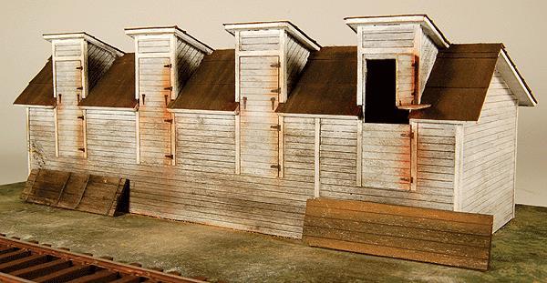 GCLaser 1291 Coal Shed - Kit (Laser-Cut Wood) HO