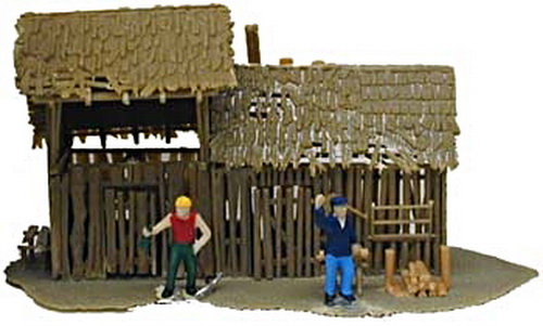 Model Power Model Power 641 HO Scale Old Storage Shed