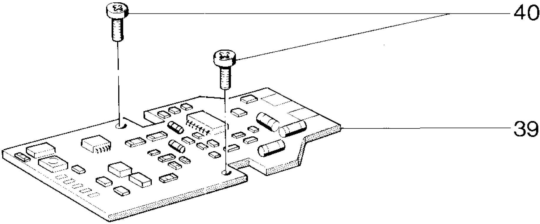 marklin 281190 circuit board for 3511