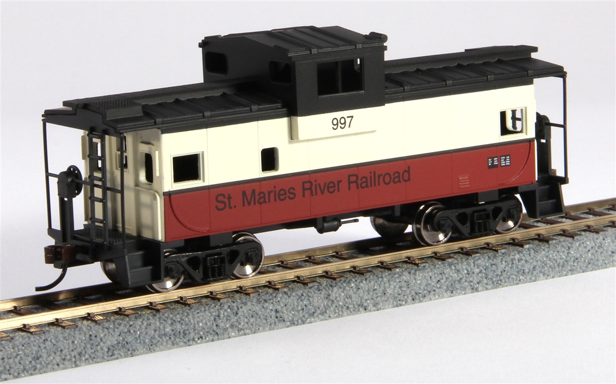 Walthers 931-1528 HO St. Maries River Railroad Wide-Vision Caboose - R