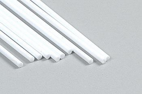 Plastruct 90858 .06  x 10  Round Plastic Styrene Rod (10) Use for bracing, cabling, piping, wiring, conduit or wherever round stock is appropriate. Precision Extruded in White Styrene Plastic.Condition: Factory New (C-9All original; unused; factory rubs and evidence of handling, shipping and factory test run.Standards for all toy train related accessory items apply to the visual appearance of the item and do not consider the operating functionality of the equipment.Condition and Grading Standards are subjective, at best, and are intended to act as a guide. )Operational Status: FunctionalThis item is brand new from the factory.Original Box: Yes (P-9May have store stamps and price tags. Has inner liners.)Manufacturer: PlastructModel Number: 90858MSRP: $5.10Scale/Era: HO ModernModel Type: MiscellaneousAvailability: Ships in 3 to 5 Business Days.The Trainz SKU for this item is P11518144. Track: 11518144 - FS - 001 - TrainzAuctionGroup00UNK - TDIDUNK
