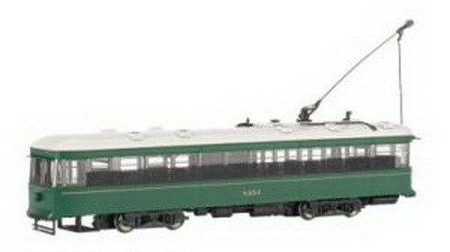 Bachmann 84603 Brooklyn/Queens Witt Streetcar w/DCC DCC-equipped for speed, direction, and lighting full interior & lights flywheels overhead wire and track pickupCondition: Factory New (C-9All original; unused; factory rubs and evidence of handling, shipping and factory test run.Standards for all toy train related accessory items apply to the visual appearance of the item and do not consider the operating functionality of the equipment.Condition and Grading Standards are subjective, at best, and are intended to act as a guide. )Operational Status: FunctionalThis item is brand new from the factory.Original Box: Yes (P-9May have store stamps and price tags. Has inner liners.)Manufacturer: BachmannModel Number: 84603Road Name: UndecoratedMSRP: $189.00Scale/Era: HO ModernModel Type: Motorized UnitsAvailability: Ships in 3 to 5 Business Days.The Trainz SKU for this item is P11462638. Track: 11462638 - FS - 001 - TrainzAuctionGroup00UNK - TDIDUNK