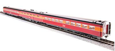 Broadway Limited 686 HO Southern Pacific Morning Daylight Passenger Ca This is a Broadway Limited 686 HO Scale Southern Pacific Morning Daylight Passenger Car, Articulated Coffee #10258/Kitchen #10257/Diner #10256 (3-Car Set).Features:1941 Pre-war Version,Skirted Cars,Lettered Southern Pacific Lines,Beautifully Detailed, Accurate Passenger Cars,Authentic Design, Paint and Color Schemes,Many Separately Applied Details Including Hand Rails,Detailed, Properly colored interiors,Lighted Interiors,Operational Exterior Lighting (where applicable),Prototypically Accurate Articulated Cars (where applicable),Antennae (where applicable),Operating Full-width, Sprung Diaphragms,Prototypically Accurate Match with PCM SP GS-4 Locomotives and PCM Alco PA/PB Locomotives,Observation Car: Lighted Drumhead & Marker Lights,Body Composition: ABS,Chassis Composition: ABS,(2) Kadee-compatible operating metal knuckle couplers. ,Compatible Tracks: Code 70, 83, 100 Rail,Recommended Minimum Radius: 22.Condition: Factory New (C-9All original; unused; factory rubs and evidence of handling, shipping and factory test run.Standards for all toy train related accessory items apply to the visual appearance of the item and do not consider the operating functionality of the equipment.Condition and Grading Standards are subjective, at best, and are intended to act as a guide. )Operational Status: FunctionalThis item is brand new from the factory.Original Box: Yes (P-9May have store stamps and price tags. Has inner liners.)Manufacturer: Broadway LimitedModel Number: 686Road Name: Southern PacificMSRP: $249.99Scale/Era: HO ModernModel Type: Passenger CarsAvailability: Ships in 1 Business Day!The Trainz SKU for this item is P12134379. Track: 12134379 - No Location Assigned - 001 - TrainzAuctionGroup00UNK - TDIDUNK