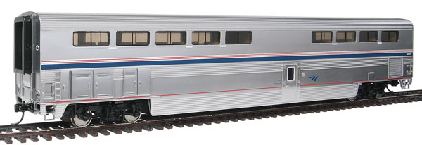 walthers 920 11033 ho amtrak 85 39 pullman standard superliner diner phase ivb ebay. Black Bedroom Furniture Sets. Home Design Ideas