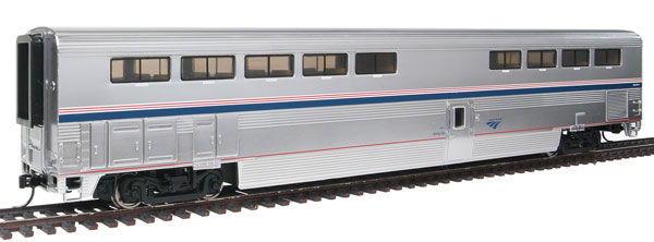 walthers 920 11081 ho amtrak 85 39 bombardier superliner ii diner phase ivb ebay. Black Bedroom Furniture Sets. Home Design Ideas