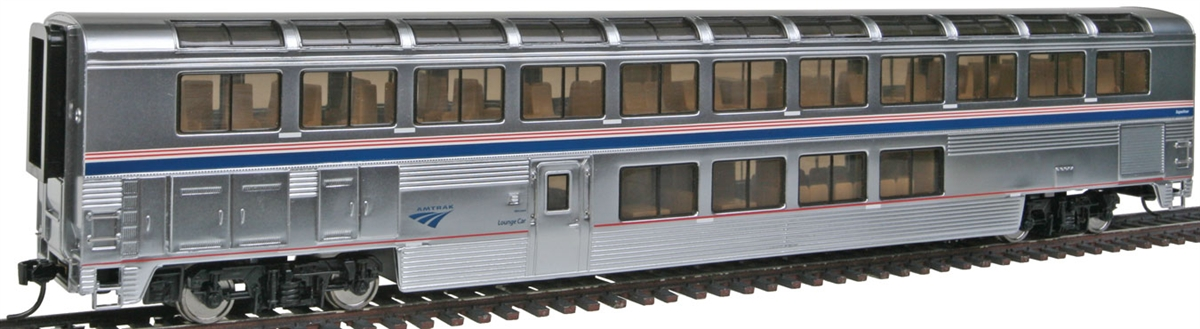 walthers 920 12043 ho amtrak 85 039 pullman standard superliner lounge phase ivb ebay. Black Bedroom Furniture Sets. Home Design Ideas