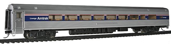 Walthers 14001 HO Amtrak 85' Budd 1 Drawing Room 29-Seat Lounge Car Li