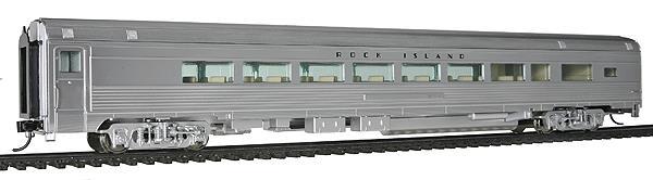 Walthers 14007 HO Rock Island 85' Budd 1 Drawing Room 29-Seat Lounge C