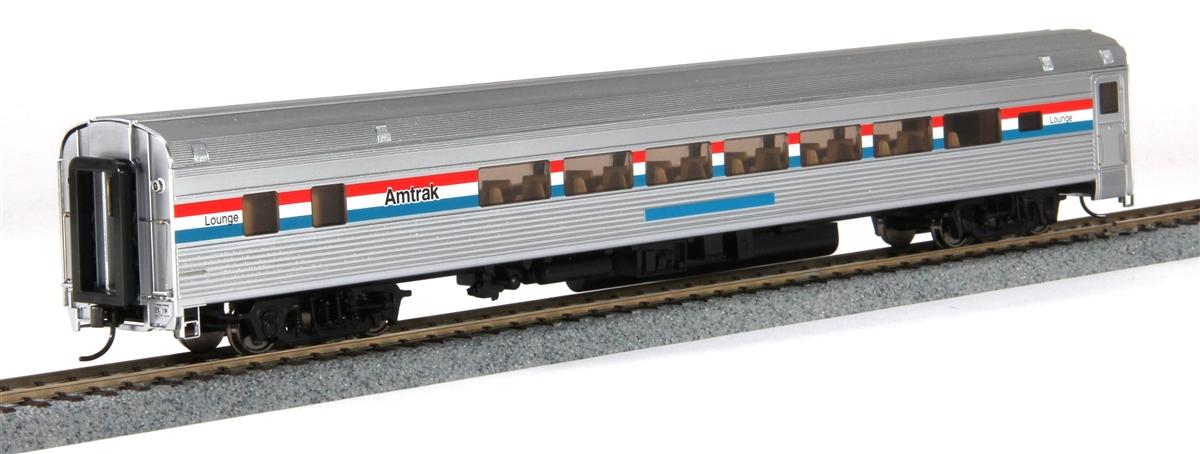 Walthers 14009 HO Amtrak 85' Budd 1 Drawing Room 29-Seat Lounge Car