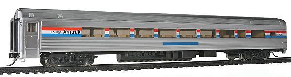 Walthers 920-13009 HO Amtrak 85' Budd 1 Drawing Room 29-Seat Lounge  -