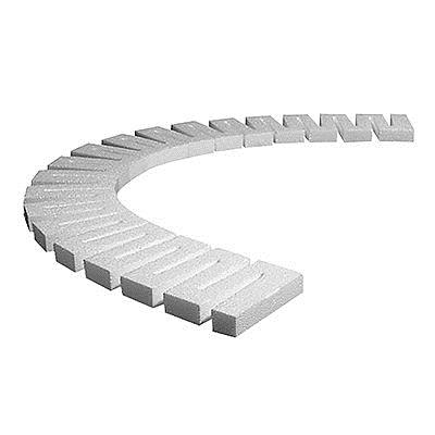Woodland Scenics ST14414B 3/4x 2.5 x24  Bulk Sub terrain Foam Risers ( This is a Woodland Scenics ST14414B Bulk 3/4 Risers 19/pkg. Used with incline/decline starters to create varying grades o your layout. Easily flexed to form curves and work on plywood or foam bases. To install, pin in place with Foam Nails and attach with foam tac glue or low temp foam glue gun and glue sticks. Each Riser measures 3/4 x 2-1/2 x 24 (1.9cm x 6.35cm x 60.9cm).Condition: Factory New (C-9All original; unused; factory rubs and evidence of handling, shipping and factory test run.Standards for all toy train related accessory items apply to the visual appearance of the item and do not consider the operating functionality of the equipment.Condition and Grading Standards are subjective, at best, and are intended to act as a guide. )Operational Status: FunctionalThis item is brand new from the factory.Original Box: Yes (P-9May have store stamps and price tags. Has inner liners.)Manufacturer: Woodland ScenicsModel Number: ST14414BMSRP: $21.99Category 1: Scenery & MaterialsCategory 2: OtherAvailability: Ships in 3 to 5 Business Days.The Trainz SKU for this item is P12080662. Track: 12080662 - FS - 001 - TrainzAuctionGroup00UNK - TDIDUNK
