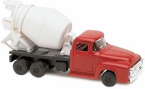 Life Like 1639 HO Scenemaster Cement Mixer Truck