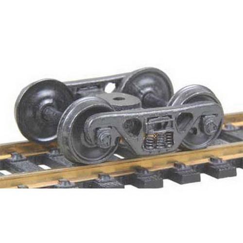 Kadee 555 HO A.S.F. 100-Ton Roller Bearing Fully Sprung Self-Centering