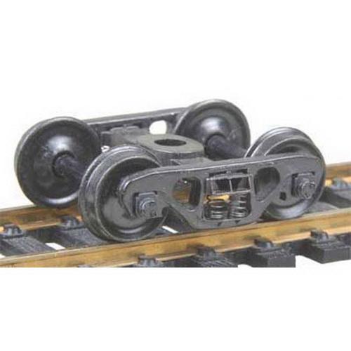 Kadee 558 HO Barber S-2 70-Ton Roller Bearing Fully Sprung Self-Center