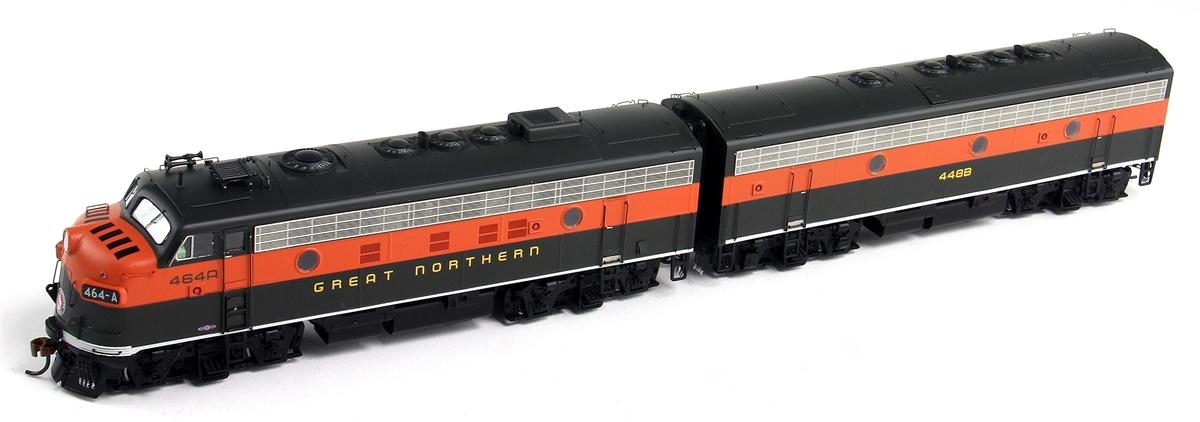 Athearn G22572 Ho Great Northern Emd F7a F7b Diesel