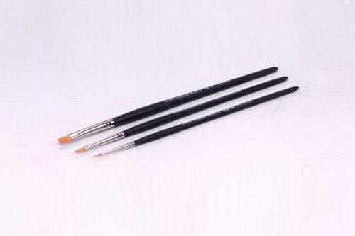 Tamiya 87067 Modeling Brush HF Standard Set These are the Tamiya High Finish Modeling Brushes. This can be used with any paint application. Features: •Tamiya 87067 Modeling Brush Hi Finish Std Set (3) •Three assorted brush sizes •Black plastic handles. Contents: •One round pointed tiny detail brush •One flat #2 0.20 (5mm) wide brush •One flat #0 0.12 (3mm) wide brush. Comments: This can be used with any paint that the modeler chooses to use.Condition: Factory NewOperational Status: FunctionalThis item is brand new from the factory.Original Box: YesManufacturer: TamiyaModel Number: 87067MSRP: $11.50Category 1: Maintenance & SuppliesCategory 2: ToolsAvailability: Ships in 3 to 5 Business Days.The Trainz SKU for this item is P11623657. Track: 11623657 - FS - 001 - TrainzAuctionGroup00UNK - TDIDUNK