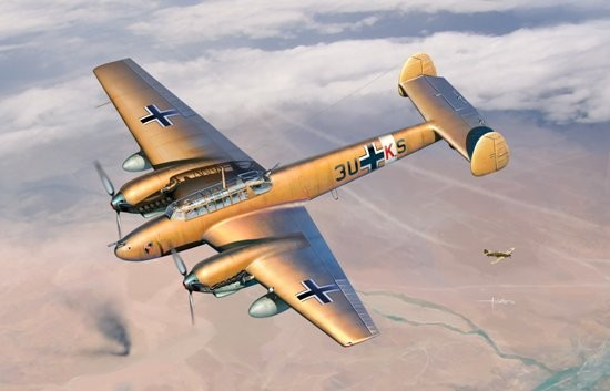 Dragon 3209 1:32 Bf110E2/Trop Heavy Fighter Features:Authentic Bf 110 E-2 /TropPitot tube mounted beneath wingRudder delicately representedTrue-to-scale tailwheelLanding wheels realistically representedGreat details on nose with optional camera for modeling Bf100E-2 TropicalSubtle antenna molded on underside of noseMovable propeller blades w/accurate curved cross-section and true-tp-scale thicknessDetailed inspection covers with rivetsThree different depths of panel lines exhibit astonishing level of minute detailBomb rack includedWings represent laminar-flow airfoil shapeNewly tooled air intake filter w/correct shapeEnlarged engine oil coolerLanding-gear compartment with interior detail - struts delicately renderedSlide-molded engine cowing cover has maximum detailWell-defined control surfaces mimic those on real aircraftFuselage possesses metal-skinned detailPilot's seatbelt upgraded by photo-etched partsAntenna devices located on underside of fuselage - loop antenna, antenna array and antenna mastIncluded finely detailed boarding ladderLanding gear can be posed lowered/stowedOptional drop tank includedEngine composed of multiple crisply molded parts to maximize detailEngine cowling cover can be assembled open/closedCockpit canopy with realistic ribbed detail thanks to slide moldsCockpit Canopy antenna finely detailedCockpit canopy can be posited open/closedTransparent cockpit canopy made from separate partsOption of displaying canopy side windows open/closedIntricate detail on underside of wingsDetailed under-wing air intakes and ventsGunner's MG 15 with windproof cover for rear defenseTwo drum-fed MG FF cannons inside the fuselageNewly tooled photo-etched rear gunner seatIntricate MG ammo included double drums for MG 15 round drum for MG FFInstrument panel authentically detailedCondition: Factory NewOperational Status: FunctionalThis item is brand new from the factory.Original Box: YesManufacturer: DragonModel Number: 3209MSRP: $128.95Category 1: Model KitsCateg