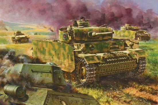 Dragon 6604 1:35 PzKpfw III Ausf M Tank w/Side-Skirt Armor Kursk 1943 The Kursk pedigree of this 1/35 scale tank is immediately obvious in the stunning box-top illustration portraying a Panzer III M of 2.Panzer-Division fighting during this gargantuan battle. Meanwhile, inside the box lie all the necessary and desirable ingredients to create a spectacular Panzer III M from this period. The Schurzen plates are produced in a true-to-scale thickness, and the brackets on which the skirts are mounted are sophisticated and accurate. Offered as a Smart Kit, it is extremely well engineered and the parts separation is cleverly handled by the design team. Markings for vehicles in the Battle of Kursk are available in the form of Cartograf decals, including 2.Pz.Div. That means this kit shares the same divisional markings as the Panzer III Ausf.N (Item No.6474) and Panzer IV Ausf.G (Item No.6594) kits already available. Modelers can thus make a trio of tanks fighting at Kursk!Condition: Factory NewOperational Status: FunctionalThis item is brand new from the factory.Original Box: YesManufacturer: DragonModel Number: 6604MSRP: $105.00Category 1: Model KitsCategory 2: 1:32 ScaleAvailability: Ships in 1 Business Day!The Trainz SKU for this item is P12019440. Track: 12019440 - DS (Shelf)  - 001 - TrainzAuctionGroup00UNK - TDIDUNK
