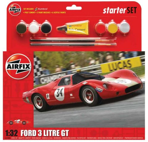 Airfix Products 55308 1:32 Ford 3 Litre GT Starter Set