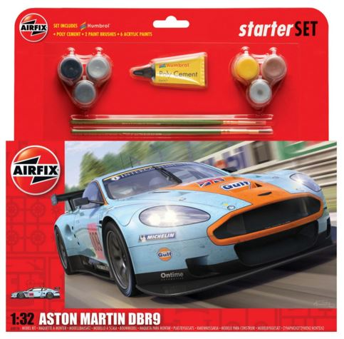 Airfix Products 50110 1:32 Aston Martin DBR9 Starter Set