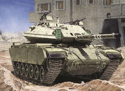 Academy 13281 1:35 Magach 6B Gal Batash Tank This is an Academy 13281 1:35 Magach 6B Gal Batash Tank. Model Size : 272mm X 98mm. Reproduction of ERA armour on upper turret and front body. Hatches can be positioned open or closed. Turret, Basket, urdan cupola and side skirt from new tooling ¦ Premium Decal included ¦ Static model ¦ This plastic model kit require assembly & coloring. ¦ Photo of main that have been attached, we are please to anounce that they areassembled & painted by professional modeler. ¦ Paint & glue not inclued.Condition: Factory NewOperational Status: FunctionalThis item is brand new from the factory.Original Box: YesManufacturer: AcademyModel Number: 13281MSRP: $59.00Category 1: Model KitsCategory 2: 1:32 ScaleAvailability: Ships in 1 Business Day!The Trainz SKU for this item is P12043094. Track: 12043094 - DS (Shelf)  - 001 - TrainzAuctionGroup00UNK - TDIDUNK