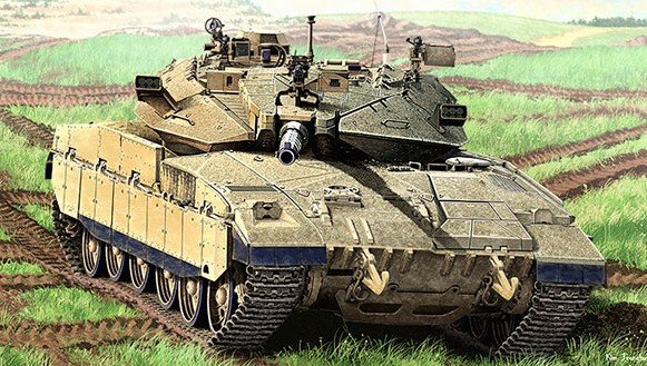 Academy 13286 1:35 Merkava Mk IID Tank  Israel Defense Forces  This is an Academy 13286 1:35 Merkava Mk IID Tank Israel Defense Forces. Assembled Model Size : approx 87mm X 242mm. 150mm main gun, Turret, basket and two kind of side skirt from new tooling. Reproducttion of ERA armour on upper turret and front body ¦ Optional assembly of two commander`s hatches ¦ Highly detailed photo-etched included ¦ Detailed flexible tracks included ¦ Static model ¦ This plastic model kit require assembly & coloring. ¦ Photo of main that have been attached, we are please to anounce that they areassembled & painted by professional modeler. ¦ Paint & glue not inclued.Condition: Factory NewOperational Status: FunctionalThis item is brand new from the factory.Original Box: YesManufacturer: AcademyModel Number: 13286MSRP: $60.00Category 1: Model KitsCategory 2: 1:32 ScaleAvailability: Ships in 1 Business Day!The Trainz SKU for this item is P12043095. Track: 12043095 - 4053-D (Suite 2730-100)  - 001 - TrainzAuctionGroup00UNK - TDIDUNK