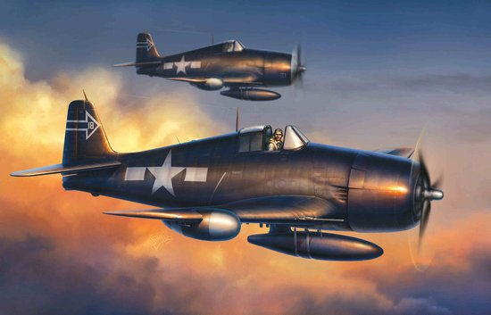 Dragon 5080 1:72 F6F5N Hellcat Night Fighter Cyber Hobby is proud to be introducing a brand new 1/72 scale plastic kit of the F6F-5N Hellcat. Not only is this the very first 1/72 WWII American subject from Cyber-Hobby, but it's also the first American item in the famed Wing-Tech range. Thus, this kit marks something of a milestone, and the completely new tooling certainly lives up to its Wing-Tech billing. The model can be depicted with the wings folded up or down, just like the original carrier-borne aircraft. Furthermore, the undercarriage can be depicted raised or lowered as well. Full engine detail is provided, allowing modelers to show off the inherent detail should they choose to do so. Panel lines are sharply scribed, giving this model an aura of extreme realism. In fact the panel lines are engraved by laser, ensuring the lines maintain a precise depth, even on curved surfaces like the fuselage. This new kit is an exciting addition to the Wing-Tech range, and it will look equally impressive by day or by night!Condition: Factory NewOperational Status: FunctionalThis item is brand new from the factory.Original Box: YesManufacturer: DragonModel Number: 5080MSRP: $38.95Category 1: Model KitsCategory 2: 1:87 ScaleAvailability: Ships in 3 to 5 Business Days.The Trainz SKU for this item is P12013347. Track: 12013347 - FS - 001 - TrainzAuctionGroup00UNK - TDIDUNK