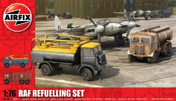 Airfix Models 3302 1:76 RAF Refuelling Set