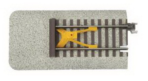 MTH 35-1021 S 5  Bumper End-of-Track Bumper With Operating Warning Lig This is an MTH 35-1021 S 5 Bumper End-of-Track Bumper With Operating Warning Light - S-Trax. Product Features: ABS Molded Integrated Ballasted Roadbed, 155# Code 125 Solid Nickel-Silver T Section Rails, Molded Wood Grain Tie Details, Positive Interlocking Track Connections, Flashing Warning Light, Unit Measures: 5Condition: Part (N/ATrainz does not provide grading for parts.Standards for all toy train related accessory items apply to the visual appearance of the item and do not consider the operating functionality of the equipment.Condition and Grading Standards are subjective, at best, and are intended to act as a guide. )Operational Status: FunctionalThis part is in workable condition.Original Box: NoManufacturer: MTHModel Number: 35-1021Category 1: PartsCategory 2: S ScaleAvailability: Ships in 2 Business Days!We are unable to provide parts lookup service or fitment assistance.The Trainz SKU for this item is P11822532. Track: 11822532 - No Location Assigned - 001 - TrainzAuctionGroup00UNK - TDIDUNK