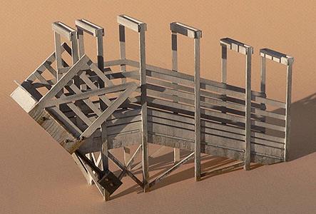 GCLaser 292-2225 Stock Loading Ramp - Kit (Laser-Cut Wood)