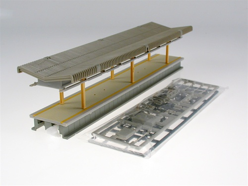 Kato 23-107 N Suburban Island Platform A This is Kato 23107 N Suburban Island Platform A. Pre Assembled 248mm (9¾) Island Platform Type A, Without Stairs. This Platform Is Used With 23-122 City Station. All Platforms Include:Asst Platform Furniture.Self Adhesive Transfers.24-817 S Joiners.Pack of 1 pc.Condition: Factory New (C-9All original; unused; factory rubs and evidence of handling, shipping and factory test run.Standards for all toy train related accessory items apply to the visual appearance of the item and do not consider the operating functionality of the equipment.Condition and Grading Standards are subjective, at best, and are intended to act as a guide. )Operational Status: FunctionalThis item is brand new from the factory.Original Box: Yes (P-9May have store stamps and price tags. Has inner liners.)Manufacturer: KatoModel Number: 23-107MSRP: $19.00Scale/Era: N ScaleModel Type: AccessoriesAvailability: Ships in 3 to 5 Business Days.The Trainz SKU for this item is P11629763. Track: 11629763 - FS - 001 - TrainzAuctionGroup00UNK - TDIDUNK