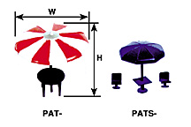 Plastruct 94758 N PATS-200 Patio Umbrella Tables & Chairs This is a Plastruct 94758 N PATS-200 Patio Umbrella Tables & Chairs. Add detail and character to your model or layout with these unique, rare park and patio furnishings. Some require minimal assembly, but most come assembled and ready to use. Bench width dimension is for total width of all parts combined. Precision Injection Molded in Styrene Plastic. Pack of 3.Condition: Factory New (C-9All original; unused; factory rubs and evidence of handling, shipping and factory test run.Standards for all toy train related accessory items apply to the visual appearance of the item and do not consider the operating functionality of the equipment.Condition and Grading Standards are subjective, at best, and are intended to act as a guide. )Operational Status: FunctionalThis item is brand new from the factory.Original Box: Yes (P-9May have store stamps and price tags. Has inner liners.)Manufacturer: PlastructModel Number: 94758MSRP: $15.10Scale/Era: N ScaleModel Type: AccessoriesAvailability: Ships in 3 to 5 Business Days.The Trainz SKU for this item is P11518850. Track: 11518850 - FS - 001 - TrainzAuctionGroup00UNK - TDIDUNK