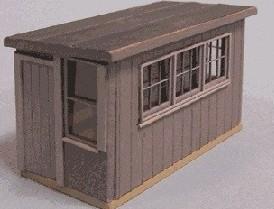 Blair Line 084 N Railway Standard Scale House Laser-Cut Building Kit