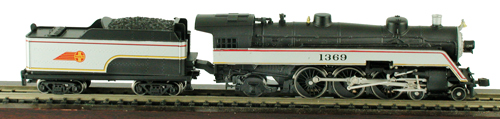 Model Power 87421 N Santa Fe Steam Semi-Streamlined 4-6-2 w/Tender This is a Model Power 87421 N Santa Fe Steam Semi-Streamlined 4-6-2 w/Tender. Features: Die-Cast Metal Boiler, Cylinders & Frame, Knuckle Coupler Equipped, Improved Electrical Pick-up, including:, NEW Tender Pick-ups, NEW Pilot Truck Pick-up, NEW Improved Driver Wiper Pick-ups, Traction-Tire Equipped for Extra Pulling Power, NEW Notched Driver Axle, NEW Golden White LED Lighting, NEW Full DCC Compatibility-Featuring Pilot Light Wiring in Tender, Precision Brass Fly-Wheel and Worm Gear, Superior Painting and Authentic Schemes, Separately Applied Details, Road Name Specific Details (Trailing Truck/Tender), NEW Road Numbers.Condition: Factory New (C-9All original; unused; factory rubs and evidence of handling, shipping and factory test run.Standards for all toy train related accessory items apply to the visual appearance of the item and do not consider the operating functionality of the equipment.Condition and Grading Standards are subjective, at best, and are intended to act as a guide. )Operational Status: FunctionalThis item is brand new from the factory.Original Box: Yes (P-9May have store stamps and price tags. Has inner liners.)Manufacturer: Model PowerModel Number: 87421Road Name: Santa FeMSRP: $229.98Scale/Era: N ScaleModel Type: Steam LocoAvailability: Ships in 1 Business Day!The Trainz SKU for this item is P11588065. Track: 11588065 - No Location Assigned - 001 - TrainzAuctionGroup00UNK - TDIDUNK