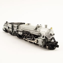 Model Power 87435 N 4-6-2 Union Pacific Grey Goosew/Vandy Coal Tender This is a Model Power 87435 N 4-6-2 Union Pacific Grey Goosew/Vandy Coal Tender. Features: Die-Cast Metal Boiler, Cylinders & Frame, Knuckle Coupler Equipped, Improved Electrical Pick-up, including:, NEW Tender Pick-ups, NEW Pilot Truck Pick-up, NEW Improved Driver Wiper Pick-ups, Traction-Tire Equipped for Extra Pulling Power, NEW Notched Driver Axle, NEW Golden White LED Lighting, NEW Full DCC Compatibility-Featuring Pilot Light Wiring in Tender, Precision Brass Fly-Wheel and Worm Gear, Superior Painting and Authentic Schemes, Separately Applied Details, Road Name Specific Details (Trailing Truck/Tender), NEW Road Numbers.Condition: Factory New (C-9All original; unused; factory rubs and evidence of handling, shipping and factory test run.Standards for all toy train related accessory items apply to the visual appearance of the item and do not consider the operating functionality of the equipment.Condition and Grading Standards are subjective, at best, and are intended to act as a guide. )Operational Status: FunctionalThis item is brand new from the factory.Original Box: Yes (P-9May have store stamps and price tags. Has inner liners.)Manufacturer: Model PowerModel Number: 87435Road Name: Union PacificMSRP: $259.98Scale/Era: N ScaleModel Type: Steam LocoAvailability: Ships in 1 Business Day!The Trainz SKU for this item is P12112596. Track: 12112596 - 4040-C (Suite 2730-100)  - 001 - TrainzAuctionGroup00UNK - TDIDUNK