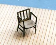 B.T.S. 13017 O Scale Captain's Chairs (4) This is a B.T.S. 13017 O Captain's Chairs (4). Features includes laser-cut wood chairs with rounded arms. Each package contains four chairs.Condition: Factory New (C-9All original; unused; factory rubs and evidence of handling, shipping and factory test run.Standards for all toy train related accessory items apply to the visual appearance of the item and do not consider the operating functionality of the equipment.Condition and Grading Standards are subjective, at best, and are intended to act as a guide. )Operational Status: FunctionalThis item is brand new from the factory.Original Box: Yes (P-9May have store stamps and price tags. Has inner liners.)Manufacturer: B.T.S.Model Number: 13017MSRP: $8.50Scale/Era: O ModernModel Type: Accessories & BuildingsAvailability: Ships in 3 to 5 Business Days.The Trainz SKU for this item is P11503757. Track: 11503757 - FS - 001 - TrainzAuctionGroup00UNK - TDIDUNK