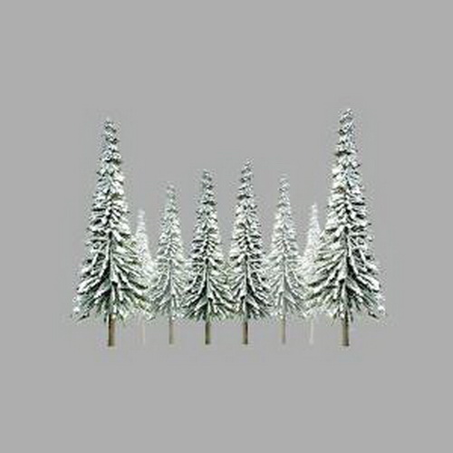 JTT Scenery Products 92008 O Snow Pine 6  -10   Scenic Trees 12/pk This is JTT Scenery Products 92008 O Snow Pine 6-10 (15.2cm - 25.4cm). Scenic 12/pk. Super Scenic snow sprues trees. JTT's Super Scenic Series trees are economically priced, ready-assembled trees complete with planting bases.Their realism is the result of a unique manufacturing process that utilizes thin, twisted wires and an exclusive coating for a true-to-life appearance. Assembled and ready to plant.Condition: Factory New (C-9All original; unused; factory rubs and evidence of handling, shipping and factory test run.Standards for all toy train related accessory items apply to the visual appearance of the item and do not consider the operating functionality of the equipment.Condition and Grading Standards are subjective, at best, and are intended to act as a guide. )Operational Status: FunctionalThis item is brand new from the factory.Original Box: Yes (P-9May have store stamps and price tags. Has inner liners.)Manufacturer: JTT Scenery ProductsModel Number: 92008MSRP: $32.00Category 1: Scenery & MaterialsCategory 2: Trees & ShrubberyAvailability: Ships in 1 Business Day!The Trainz SKU for this item is P11684901. Track: 11684901 - No Location Assigned - 001 - TrainzAuctionGroup00UNK - TDIDUNK